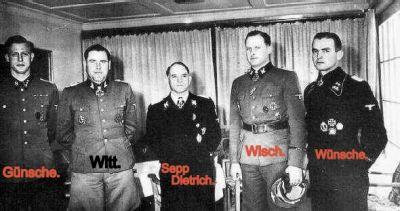 Reinhard Heydrich Funeral Günsche, Otto - W...