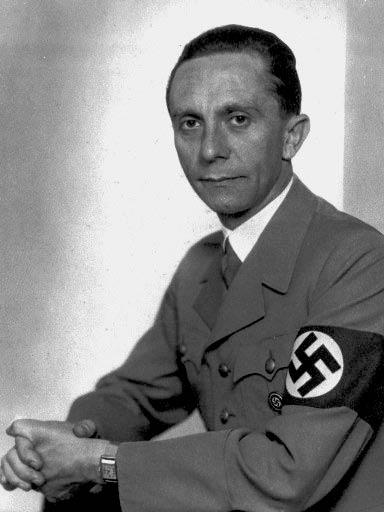 Goebbels/ Behrend/divorced Quandt, Johanna Maria Magdalena ... Joseph Goebbels