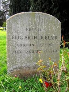 450px-Grave_of_Eric_Arthur_Blair_(George_Orwell),_All_Saints,_Sutton_Courtenay_-_geograph.org.uk_-_362277