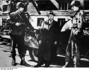 Festnahme von Fritz Sauckel