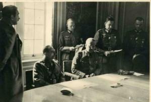 Friedrich Paulus Walther von Reichenau Belgian surrender