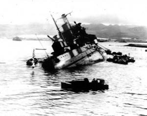 USS-Utah-AG-16-capsizing