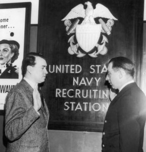 William Hitler US Navy Recruiting Station
