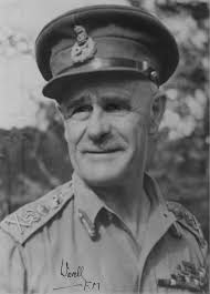 Wavell, Archibald Percival, 1st Earl Wavell.