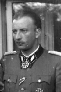 Russland, Hermann Fegelein mit Sturmbannführer