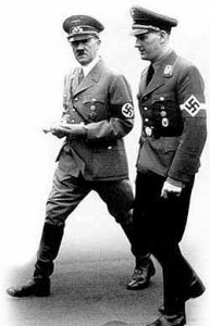 Hitler with von Shirach
