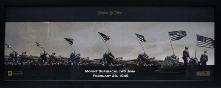 The battle of Iwo Jima, the most bloodiest battle for the U.S Forces in WW2.