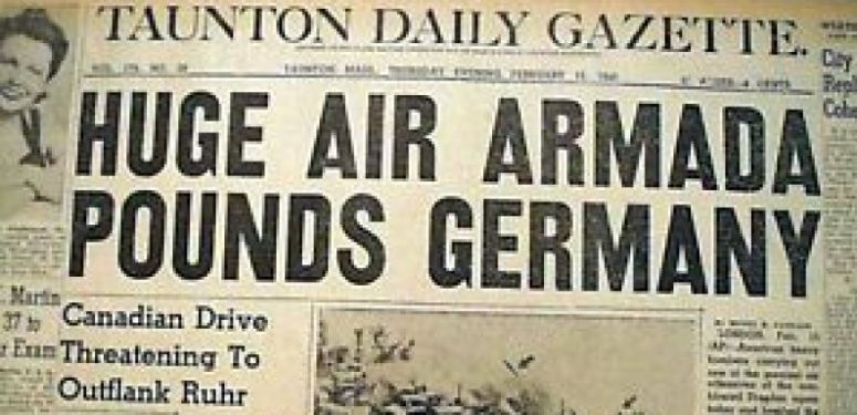 Americans bomb Germans for first time, August 17th 1942