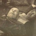 The death of Benito Mussolini and his mistress Clara Petacci.