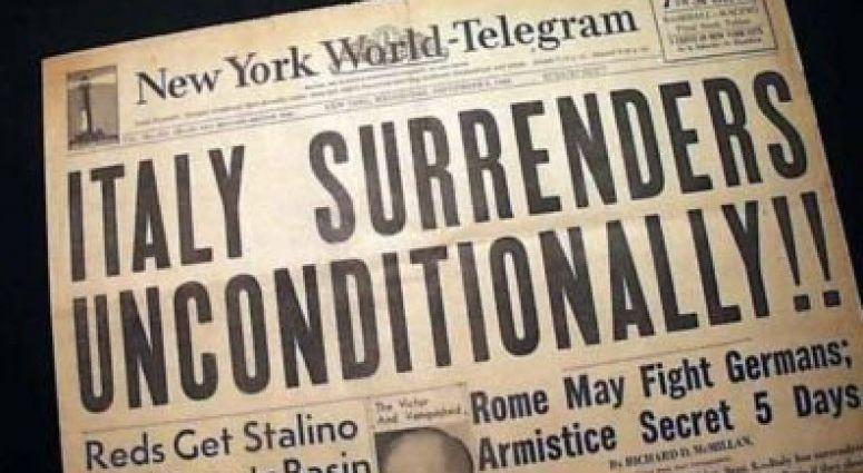 Italy, Hitler's Germany loyal Ally