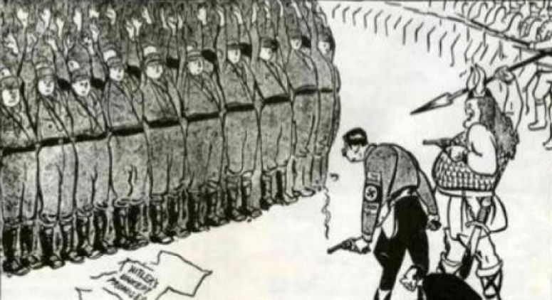 the night of the long knives Over the course of several days in 1934, adolf hitler eliminated all of his political enemies, enabling him to declare himself fuhrer.