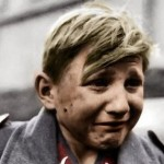 Hans-Georg Henke - 16 Year Old German soldier crying