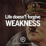 What were Hitler's weaknesses?