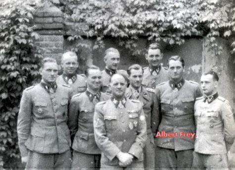 SS Standarteführer Albert Frey, suicide 90 years old ...