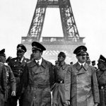 Hitler's triumphant tour of Paris, 1940