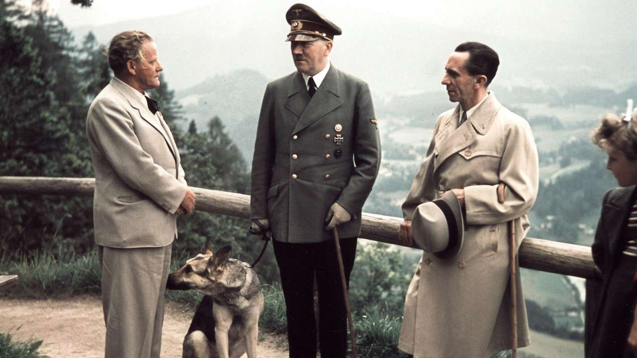 What Is Hitler Dog Name