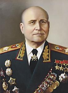 Konev, Ivan Stepanovic - WW2 Gravestone